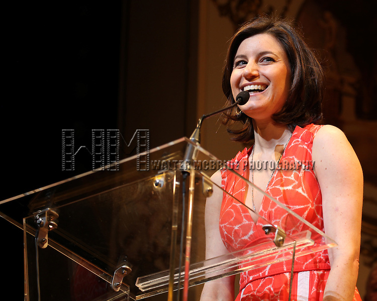 Susan Pourfar.during the 68th Annual Theatre World Awards at the Belasco Theatre  in New York City on June 5, 2012.