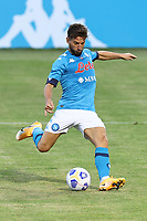 Dries Mertens of SSC Napoli<br /> during the friendly football match between SSC Napoli and L Aquila 1927 at stadio Patini in Castel di Sangro, Italy, August 28, 2020. <br /> Photo Cesare Purini / Insidefoto