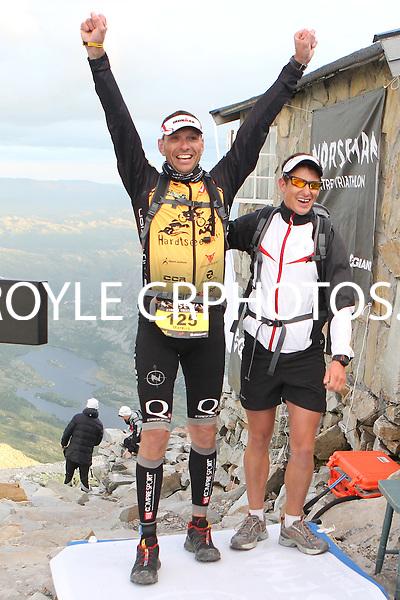 Race number 125 - Markus Kullack - Norseman Xtreme Tri 2012 - Norway - photo by chris royle/ boxingheaven@gmail.com