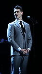 Casey Cott performing at the Dramatists Guild Foundation toast to Stephen Schwartz with a 70th Birthday Celebration Concert at The Hudson Theatre on April 23, 2018 in New York City.