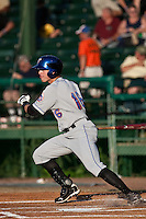 Emmanuel Garcia (16) of the St. Lucie Mets during a game vs. the Daytona Cubs May 17 2010 at Jackie Robinson Ballpark in Daytona Beach, Florida. St. Lucie won the game against Daytona by the score of 5-2.  Photo By Scott Jontes/Four Seam Images