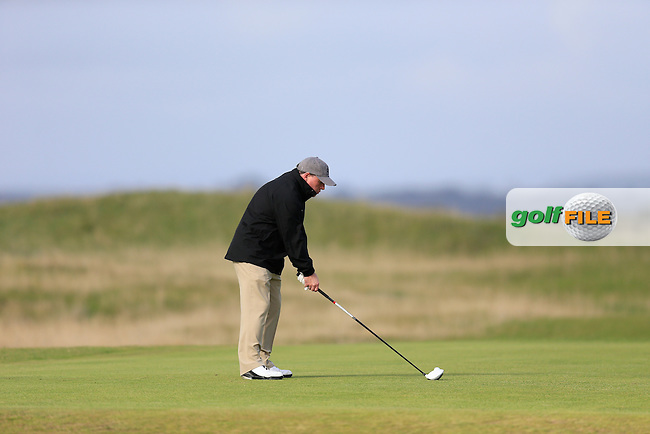 Gerry McManus (AM) during the final round of the Alfred Dunhill links Championship Old Course, St Andrews, Fife, Scotland.<br /> Picture Fran Caffrey www.golffile.ie