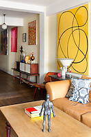 Artworks in living room