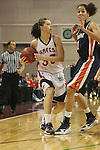 LAS VEGAS, NV - MARCH 7:  Ashlee Smith during Pepperdine's 62-56 win over the St. Mary's Gaels in the 2010 Zappos West Coast Conference Women's Basketball Championships on March 7, 2010 at Orleans Arena in Las Vegas Nevada.