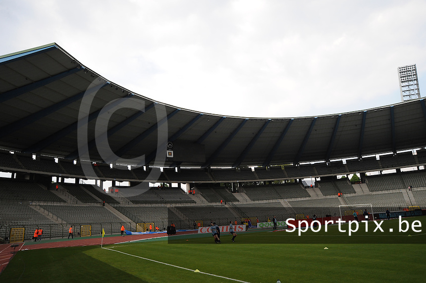 15 Mei 2010 Bekerfinale vrouwen : Sinaai Girls - RSC Anderlecht  : koning boudewijnstadion.foto DAVID CATRY / Vrouwenteam.be