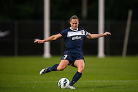 Sky Blue FC defender Christie Rampone (3). FC Kansas City defeated Sky Blue FC 1-0 during a National Women's Soccer League (NWSL) match at Yurcak Field in Piscataway, NJ, on July 28, 2013.