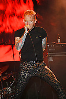 BLACKPOOL, ENGLAND - AUGUST 4: Frank Carter of 'Frank Carter &amp; The Rattlesnakes' performing at Rebellion Festival, Winter Gardens on August 4, 2017 in Blackpool, England.<br /> CAP/MAR<br /> &copy;MAR/Capital Pictures