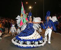 OVAR, PORTUGAL, 18 DE FEVEREIRO 2012 - CARNAVAL PORTUGAL - Integrantes da Escola de Samba de Ovar, durante desfile de Carnaval em Portugal, neste sabado, 18. (FOTO: HUGO MONTEIRO - BRAZIL PHOTO PRESS).