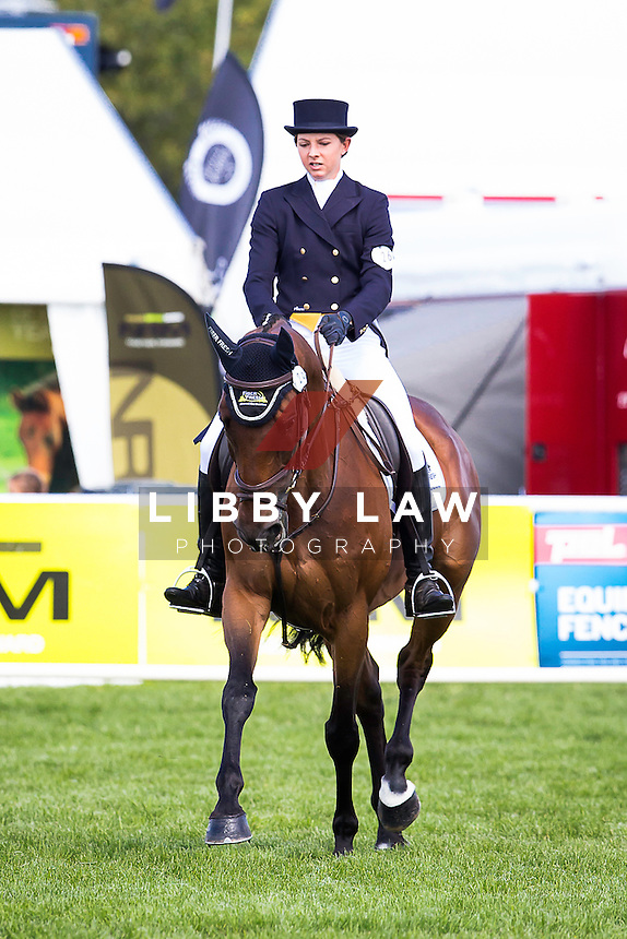 NZL-Samantha Felton (RICKER RIDGE ESCADA) EVENTING: CIC3* DRESSAGE: 2015 NZL-Farmlands Horse Of The Year Show, Hastings (Thursday 19 March) CREDIT: Libby Law CREDIT: LIBBY LAW PHOTOGRAPHY