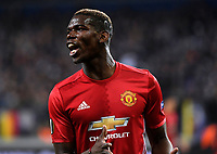 BRUSSELS , BELGIUM - APRIL 13 :   Paul Pogba pictured during UEFA Europa League quarter final first leg match between Rsc Anderlecht and Manchester United in Brussels, Belgium 13/04/2017. <br /> <br /> Bruxelles 13-04-2016 <br /> Anderlecht - Manchester United Europa League <br /> Foto Panoramic / Insidefoto <br /> ITALY ONLY