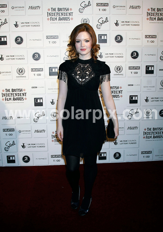 **ALL ROUND PICTURES FROM SOLARPIX.COM**.**WORLDWIDE SYNDICATION RIGHTS**.The Independent Film Awards at The Brewery in Chiswell Street, London.This pic:  Holliday Grainger.JOB REF:   10350   LNJ     DATE:  06.12.09.**MUST CREDIT SOLARPIX.COM OR DOUBLE FEE WILL BE CHARGED**.**MUST NOTIFY SOLARPIX OF ONLINE USAGE**.**CALL US ON: +34 952 811 768 or LOW RATE FROM UK 0844 617 7637**