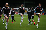 David Edgar of Sheffield Utd warms up before the match - English League One - Scunthorpe Utd vs Sheffield Utd - Glandford Park Stadium - Scunthorpe - England - 19th December 2015 - Pic Simon Bellis/Sportimage