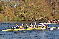 166 .SPS-Bokkerink .IM3.8+ .St Pauls Sch BC. Wallingford Head of the River. Sunday 27 November 2011. 4250 metres upstream on the Thames from Moulsford railway bridge to Oxford University's Fleming Boathouse in Wallingford. Event run by Wallingford Rowing Club.