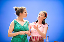 The Faith Machine by Alexi Kaye Campbell directed by Jamie Lloyd. With Hayley Atwell as Sophie,  Bronagh Gallagher as Tatyana. Opens at The Royal Court Theatre on 31/8/11 . CREDIT Geraint Lewis
