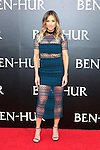 LOS ANGELES - AUG 16: Paige Hathaway at the premiere of Ben-Hur at the TCL Chinese Theatre IMAX on August 16, 2016 in Los Angeles, California