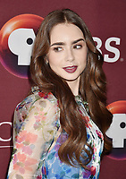 LOS ANGELES, CA - JUNE 08: Lily Collins attends Les Misérables Photo Call at Linwood Dunn Theater on June 08, 2019 in Los Angeles, California.<br /> CAP/ROT/TM<br /> ©TM/ROT/Capital Pictures