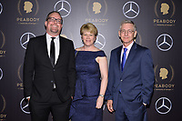 NEW YORK - MAY 18: Aaron Willen, Mindy Larcom and Randy Travis attend the 78th Annual Peabody Awards at Cipriani Wall Street on May 18, 2019 in New York City. (Photo by Anthony Behar/FX/PictureGroup)