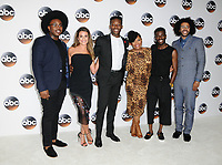 06 August  2017 - Beverly Hills, California - Marcel Spears, Lea Michele, Brandon Michael Hall, Yvette Nicole Brown, Bernard David Jones, Daveed Diggs.   2017 ABC Summer TCA Tour  held at The Beverly Hilton Hotel in Beverly Hills. <br /> CAP/ADM/BT<br /> &copy;BT/ADM/Capital Pictures