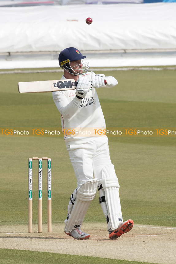 Dane Vilas of Lancashire CCC is untroubled by a James Harris short delivery during Middlesex CCC vs Lancashire CCC, Specsavers County Championship Division 2 Cricket at Lord's Cricket Ground on 13th April 2019