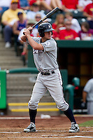 Wil Myers (12) of the Northwest Arkansas Naturals at bat during a game against the Springfield Cardinals and the Springfield Cardinals at Hammons Field on July 30, 2011 in Springfield, Missouri. Springfield defeated Northwest Arkansas 11-5. (David Welker / Four Seam Images)