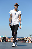 FORT LAUDERDALE FL - APRIL 07: Kane Brown performs during the Tortuga Music Festival held at Fort Lauderdale Beach on April 07, 2017 in Fort Lauderdale, Florida. : Credit Larry Marano © 2017