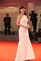 Ha Ji-Won walks the red carpet ahead of the 'Manhunt (Zhuibu)' screening during the 74th Venice Film Festival at Sala Darsena on September 8, 2017 in Venice, Italy. <br /> CAP/GOL<br /> &copy;GOL/Capital Pictures