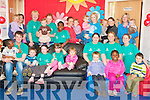 CAKE SALE: The staff and children of Dromtacker Cre?che at Tralee IT who held a Cake Sale in aid of the Special Olympics at the North Campus on Friday.