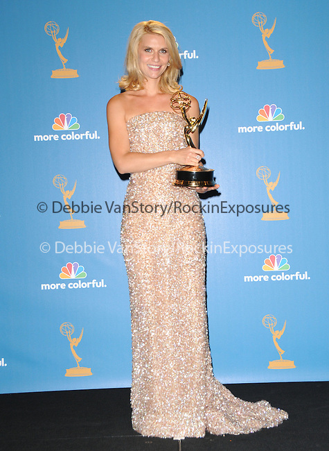 Claire Danes Dancy at The 62nd Anual Primetime Emmy Awards held at Nokia Theatre L.A. Live in Los Angeles, California on August 29,2010                                                                   Copyright 2010  DVS / RockinExposures