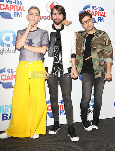 Years and Years at Capital&Otilde;s Summertime Ball with Vodafone at Wembley Stadium, London on June 11th 2016<br /> CAP/ROS<br /> &copy;Steve Ross/Capital Pictures<br /> Years and Years at Capital&rsquo;s Summertime Ball with Vodafone at Wembley Stadium, London on June 11th 2016<br /> CAP/ROS<br /> &copy;Steve Ross/Capital Pictures /MediaPunch ***NORTH AND SOUTH AMERIcAS ONLY***