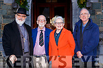 Rev Sim Lumby, Brian Lougheed, Noeleen Lumby and Ger Godley at the Killarney Friary 150th anniversary celebration mass on Friday