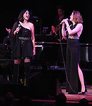 Christiane Noll and Linda Eder performing their show 'A New Life' ('Jekyll & Hyde' Reunion) at The Town Hall on October 13, 2012 in New York City.