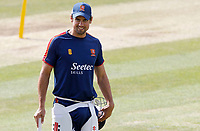 Sir Alastair Cook warms up prior to Essex CCC vs Kent CCC, Bob Willis Trophy Cricket at The Cloudfm County Ground on 4th August 2020
