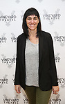 Leigh Silverman during the photo call for the Vineyard Theatre's production of David Cale's 'HarryClarke' at the Shelter studios on October 2, 2017 in New York City.