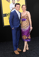"10 June 2016 - Los Angeles, California - Michael Doyle and Amy Ryan. ""Central Intelligence"" Los Angeles Premiere held at Westwood Village Theatre. Photo Credit: AdMedia"