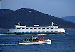 ferry off San Juan Islands
