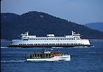 ferry off San Juan Islands