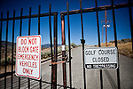 The abandoned  Northgate Golf Course in Reno, Nevada, May 22, 2012.