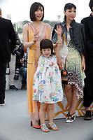 Mayu Matsuoka, Miyu Sasaki and Sakura Ando attend the photocall for 'Shoplifters (Manbiki Kazoku)' during the 71st annual Cannes Film Festival at Palais des Festivals on May 14, 2018 in Cannes, France.<br /> CAP/GOL<br /> &copy;GOL/Capital Pictures