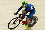 Chau Dor Ming Dormino of the  Team Champion System-CSR competes in Men Elite - Sprint Final during the Hong Kong Track Cycling National Championship 2017 on 25 March 2017 at Hong Kong Velodrome, in Hong Kong, China. Photo by Chris Wong / Power Sport Images