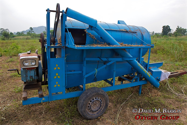 Machine To Deseed The Soy Bean
