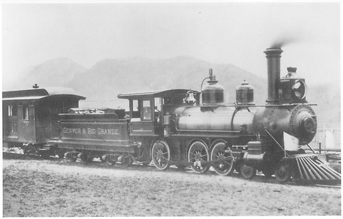 Engine #175 at Palmer Lake.<br /> D&amp;RG  Palmer Lake, CO