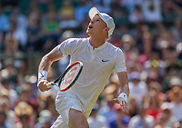 London, England, 6 th July, 2017, Tennis,  Wimbledon, Kyle Edmund (GBR)<br /> Photo: Henk Koster/tennisimages.com