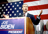 Washington, D.C. - June 9, 1987 -- United States Senator Joseph Biden (Democrat of Delaware) his intention to run for the Democratic nomination for of the United States in 1988 in Washington, D.C. on June 9, 1987..Credit: Howard L. Sachs / CNP