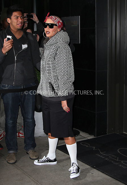 WWW.ACEPIXS.COM . . . . .  ....April 25 2012, New York City....Amber Roase leaves a midtown hotel in a wacky outfit on April 25 2012 in New York City....Please byline: Zelig Shaul - ACE PICTURES.... *** ***..Ace Pictures, Inc:  ..Philip Vaughan (212) 243-8787 or (646) 769 0430..e-mail: info@acepixs.com..web: http://www.acepixs.com