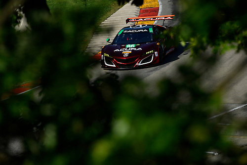 IMSA WeatherTech SportsCar Championship<br /> Continental Tire Road Race Showcase<br /> Road America, Elkhart Lake, WI USA<br /> Saturday 5 August 2017<br /> 86, Acura, Acura NSX, GTD, Oswaldo Negri Jr., Jeff Segal<br /> World Copyright: Richard Dole<br /> LAT Images