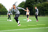 Luciano Narsingh of Swansea City in action during the Swansea City Training Session at The Fairwood Training Ground, Wales, UK. Tuesday 11th September 2018