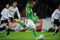FUSSBALL   1. BUNDESLIGA   SAISON 2011/2012    16. SPIELTAG SV Werder Bremen - VfL Wolfsburg          10.12.2011 Marko Arnautovic (SV Werder Bremen) erzielt das Tor zum 4:0