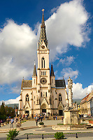 Neo Gothic parish church, K?szeg Hungary