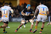 Zach Mercer of Bath Rugby in possession. Heineken Champions Cup match, between Bath Rugby and Wasps on January 12, 2019 at the Recreation Ground in Bath, England. Photo by: Patrick Khachfe / Onside Images