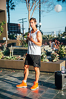 Brendan Brazier at Vega Sport Event at Barry's Bootcamp (Photo by Tiffany Chien/Guest Of A Guest)